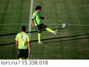 Купить «2014 FIFA World Cup - Brazil Training Session at the President Vargas stadium on the eve of the FIFA World Cup 2014 quarter-final match between Brazil...», фото № 15338018, снято 3 июля 2014 г. (c) age Fotostock / Фотобанк Лори