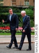Купить «British Prime Minister David Cameron welcomes Herman Van Rompuy, President of the European Council, at 10 Downing Street. Featuring: David Cameron,Herman...», фото № 15341678, снято 23 июня 2014 г. (c) age Fotostock / Фотобанк Лори