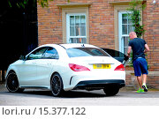 Купить «Wolverhampton Wanderes midfielder, Jamie O'Hara, cuts a lonely figure as he leaves his home amid reports he and his wife Danielle Lloyd are experiencing...», фото № 15377122, снято 28 июля 2014 г. (c) age Fotostock / Фотобанк Лори