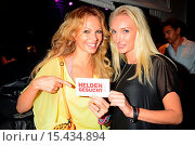 Birte Glang, Marina Rudolph at Junge Helden - Ein Club voller Helden... (2014 год). Редакционное фото, фотограф AEDT / WENN.com / age Fotostock / Фотобанк Лори
