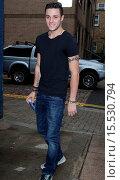 Купить «X Factor final 12 contestants arrive at first studio rehearsals. Featuring: Barclay Beales Where: London, United Kingdom When: 06 Oct 2014 Credit: WENN.com», фото № 15530794, снято 6 октября 2014 г. (c) age Fotostock / Фотобанк Лори