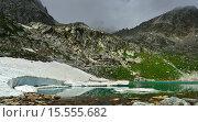Купить «Красочные озера в горах Кавказа», фото № 15555682, снято 13 июля 2015 г. (c) александр жарников / Фотобанк Лори