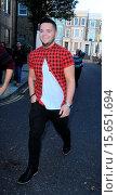 Купить «X Factor final contestants arrive at music studio rehearsals. Featuring: Paul Akister Where: London, United Kingdom When: 27 Oct 2014 Credit: WENN.com», фото № 15651694, снято 27 октября 2014 г. (c) age Fotostock / Фотобанк Лори