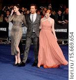Купить «UK Premiere of 'Interstellar' held at the Odeon Cinema Leicester Square - Arrivals Featuring: Matthew McConaughey,Anne Hathaway,Jessica Chastain Where...», фото № 15669654, снято 29 октября 2014 г. (c) age Fotostock / Фотобанк Лори