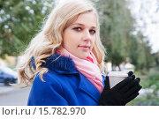 Портрет красивой блондинки. Стоковое фото, фотограф Оксана Лозинская / Фотобанк Лори