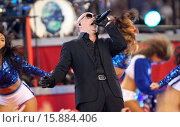 Купить «Pitbull performs with Ne-Yo on Thanksgiving during half-time of an NFL football game between the Dallas Cowboys and the Philadelphia Eagles Where: Arlington...», фото № 15884406, снято 27 ноября 2014 г. (c) age Fotostock / Фотобанк Лори