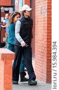 Купить «A camera-shy Nikki Reed and Ian Somerhalder leaving a yoga class in Studio City Featuring: Nikki Reed, Ian Somerhalder Where: Los Angeles, California, United States When: 30 Dec 2014 Credit: WENN.com», фото № 15984394, снято 30 декабря 2014 г. (c) age Fotostock / Фотобанк Лори