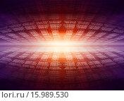 Купить «Абстрактный фон с компьютерным кодом», иллюстрация № 15989530 (c) Кирилл Черезов / Фотобанк Лори