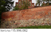 Купить «Teutonic castle in Sztum, Poland», видеоролик № 15996082, снято 15 октября 2015 г. (c) BestPhotoStudio / Фотобанк Лори
