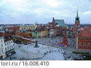 Купить «Королевская площадь в Варшаве», фото № 16008410, снято 4 января 2013 г. (c) Ed_Z / Фотобанк Лори