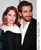 Купить «Opening night after party for Broadway's Constellations held at URBO restaurant - Arrivals. Featuring: Ruth Wilson, Jake Gyllenhaal Where: New York, New...», фото № 16023174, снято 13 января 2015 г. (c) age Fotostock / Фотобанк Лори