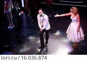 Купить «Opening night curtain call for Broadway's Honeymoon in Vegas at the Nederlander Theatre. Featuring: Tony Danza, Rob McClure, Brynn O'Malley Where: New...», фото № 16036874, снято 15 января 2015 г. (c) age Fotostock / Фотобанк Лори