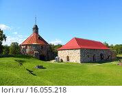 Купить «Музей-крепость «Корела» в Приозерске», фото № 16055218, снято 10 августа 2015 г. (c) Михаил Коханчиков / Фотобанк Лори