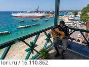 Купить «harbour of zanzibar.», фото № 16110862, снято 19 февраля 2015 г. (c) age Fotostock / Фотобанк Лори