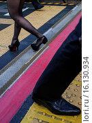 Купить «Pedestrians, in southern terrace, Shinjuku, Tokyo, Japan.», фото № 16130934, снято 18 июня 2019 г. (c) age Fotostock / Фотобанк Лори