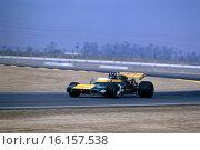 1971 Graham Hill, Lobster claw Brabham BT34. Ricard testing in France. Стоковое фото, фотограф GP Library \ UIG / age Fotostock / Фотобанк Лори