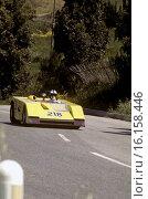 Ugo Locatelli-Paolo Gargano's AMS-Alfa in the Targa Florio, Sicily 1970. Стоковое фото, фотограф GP Library \ UIG / age Fotostock / Фотобанк Лори
