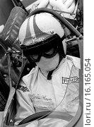 Chris Amon in his Ferrari F1, 1967. Стоковое фото, фотограф GP Library \ UIG / age Fotostock / Фотобанк Лори