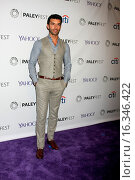 """Купить «PaleyFEST LA 2015 - """"Jane the Virgin"""". PaleyFEST is a television festival where episodes of the tv show are screened, and panel discussions are held with...», фото № 16346422, снято 15 марта 2015 г. (c) age Fotostock / Фотобанк Лори"""