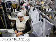 Clothing factory THE MAKERS in Morocco produces clothes for the Dutch retails business. (2015 год). Редакционное фото, фотограф Ton Koene / age Fotostock / Фотобанк Лори