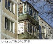 Купить «Пятиэтажный жилой дом. Шоссе Щелковское, 73 (снесен). Москва», эксклюзивное фото № 16540918, снято 20 января 2014 г. (c) lana1501 / Фотобанк Лори