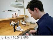 Купить «Azubi bei der Arbeit», фото № 16548606, снято 25 февраля 2005 г. (c) easy Fotostock / Фотобанк Лори