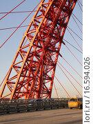 Купить «Часть опоры Живописного моста в Москве», фото № 16594026, снято 20 октября 2015 г. (c) Яременко Екатерина / Фотобанк Лори