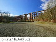 Купить «Göltzschtalbrücke _ Goltzsch valley bridge 34», фото № 16640562, снято 7 февраля 2008 г. (c) easy Fotostock / Фотобанк Лори