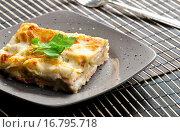 Купить «spinach lasagne with salmon», фото № 16795718, снято 19 февраля 2020 г. (c) easy Fotostock / Фотобанк Лори