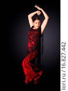 Spanish Paso Doble dancer. Стоковое фото, фотограф ZOONAR GMBH LBRF / easy Fotostock / Фотобанк Лори