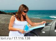 Купить «Girl and Car», фото № 17116138, снято 22 октября 2018 г. (c) easy Fotostock / Фотобанк Лори