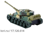 tank isolated on white background. Стоковое фото, фотограф Zoonar/UGORENKOV-ALE / easy Fotostock / Фотобанк Лори