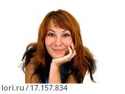 Портрет рыжеволосой молодой женщины. Стоковое фото, фотограф Оксана Якупова / Фотобанк Лори