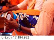 Hare Krishna Mrdanga Drum. Стоковое фото, фотограф Ngo Thye Aun / easy Fotostock / Фотобанк Лори