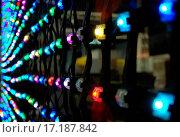 Купить «Multicolor LED wall.», фото № 17187842, снято 21 сентября 2019 г. (c) easy Fotostock / Фотобанк Лори