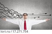 Купить «Strong decision making ability», фото № 17271754, снято 12 мая 2013 г. (c) Sergey Nivens / Фотобанк Лори
