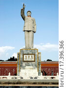 Купить «Monument of Chinese leader», фото № 17396366, снято 22 мая 2018 г. (c) easy Fotostock / Фотобанк Лори
