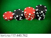 Купить «Stack of gambling chips», фото № 17440762, снято 19 февраля 2020 г. (c) easy Fotostock / Фотобанк Лори