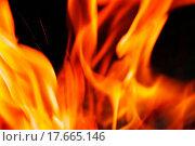 Купить «Burning fire close_up, may be used as background», фото № 17665146, снято 17 августа 2019 г. (c) easy Fotostock / Фотобанк Лори
