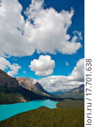 Купить «Peyto Lake, Banff National Park», фото № 17701638, снято 11 июля 2020 г. (c) easy Fotostock / Фотобанк Лори