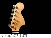 Купить «Guitar headstock», фото № 17718278, снято 13 июля 2020 г. (c) easy Fotostock / Фотобанк Лори