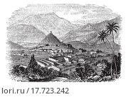 Купить «Kabul, city, Afghanistan, old engraved illustration of Kabul, city, Afghanistan, 1890s», иллюстрация № 17723242 (c) easy Fotostock / Фотобанк Лори