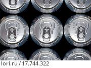 Купить «group of an aluminum can of soda», фото № 17744322, снято 4 июля 2020 г. (c) easy Fotostock / Фотобанк Лори