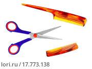 Купить «Scissors and comb», фото № 17773138, снято 19 января 2020 г. (c) easy Fotostock / Фотобанк Лори