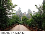 Купить «China national forest park _ Zhangjiajie», фото № 17821442, снято 21 января 2018 г. (c) easy Fotostock / Фотобанк Лори