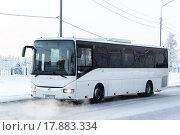 Купить «Irisbus Crossway», фото № 17883334, снято 9 ноября 2013 г. (c) Art Konovalov / Фотобанк Лори