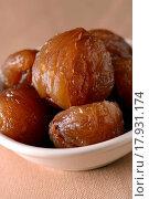Купить «Candied chestnuts», фото № 17931174, снято 19 сентября 2019 г. (c) easy Fotostock / Фотобанк Лори