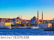 Купить «Istanbul sunset», фото № 18075038, снято 30 марта 2020 г. (c) easy Fotostock / Фотобанк Лори