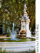 Купить «Fountain in Madrid, Spain», фото № 18079462, снято 13 декабря 2018 г. (c) easy Fotostock / Фотобанк Лори