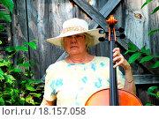 Купить «Female cellist.», фото № 18157058, снято 3 июля 2020 г. (c) easy Fotostock / Фотобанк Лори